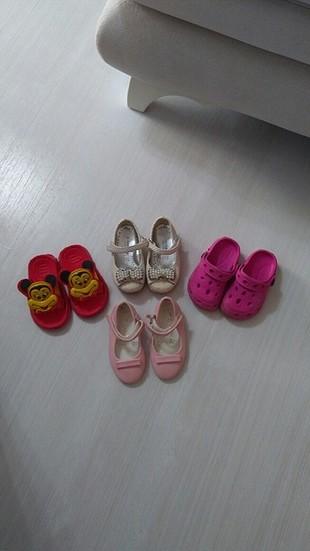 kız çocuk ayakkabı terlik