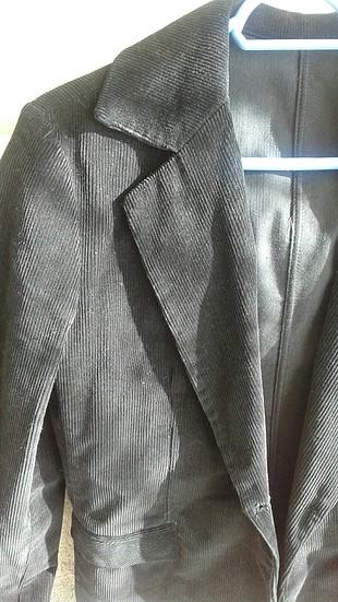 m Beden Kadife kısa ceket