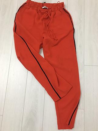 Kırmızı Adl marka poplin pantolon