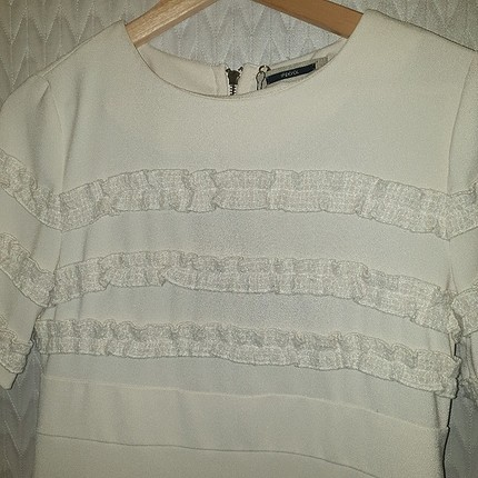 ipekyol beyaz elbise