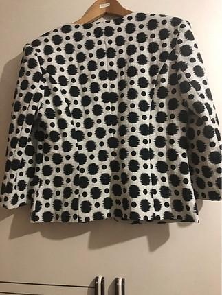 42 Beden siyah Renk İpekyol ceket