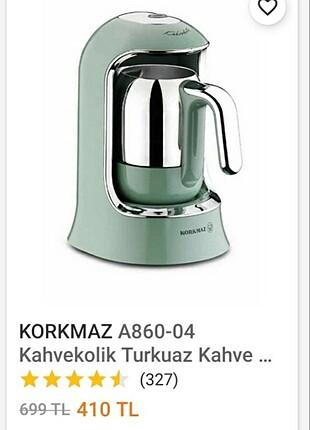 Korkmaz türk kahve makinası