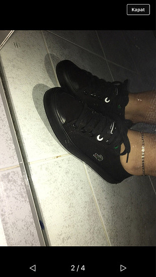 Orjinal lacoste ayakkabı