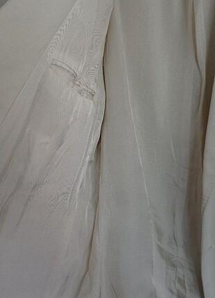 Zara Oversize bej blazer yeni