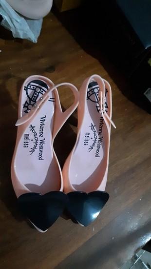 Töz pembe tasarım ayakkabı