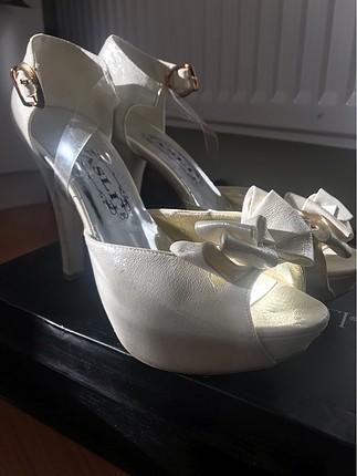 Topuklu ayakkabı - gelin ayakkabısı
