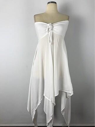 Asmakta kesim elbise S-M