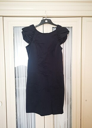 Laciver kumaş elbise