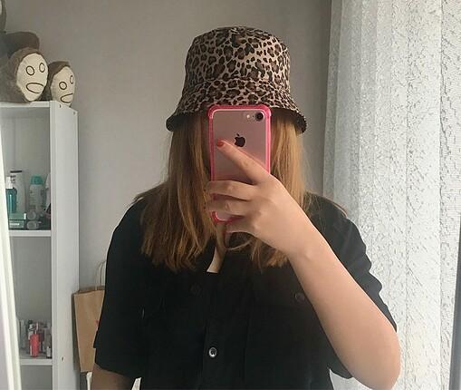 H&M leoparlı şapka