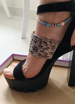 Shoe Tek Topuklu Ayakkabı