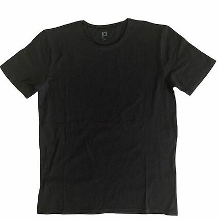 Basic Siyah Tshirt L Beden