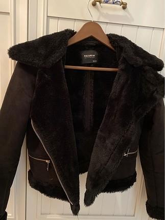 Pull bear kürk ceket