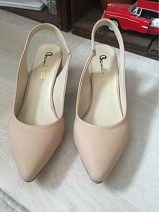 Yeni-Günlük topuklu ayakkabı