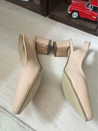 39 Beden Yeni-Günlük topuklu ayakkabı