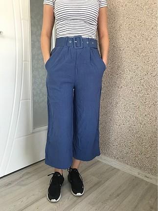 Kemer detaylı çok rahat bir pantolon