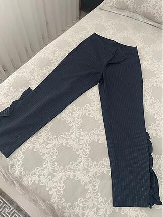 Klasik çizgili pantolon