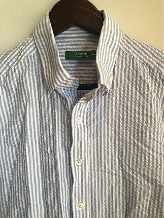 Çizgili erkek gömleği