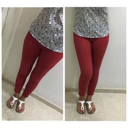 Bershka bordo pantolon