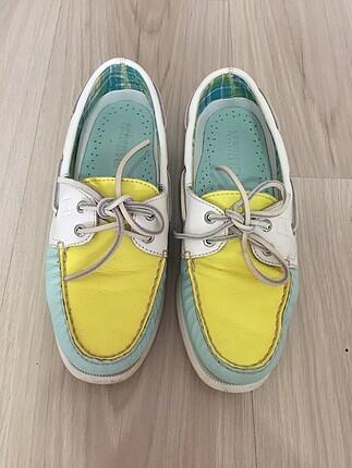 Sarı mint yazlık ayakkabı