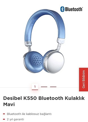 Apple Watch VESTEL DESİBEL K550 BLUETOOTH KULAKLIK
