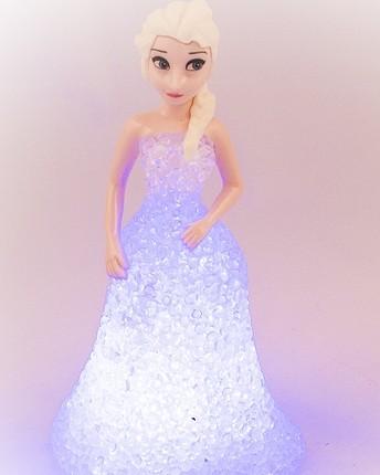 Elsa Frozen Karlar ülkesi ışıklı figür