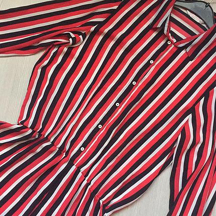 Bershka Defacto gömlek tulum