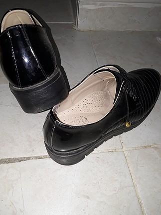 38 Beden siyah ayakkabi