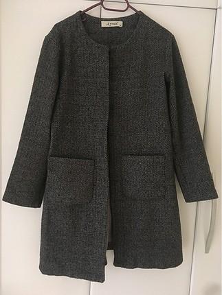 Gri hırka ceket