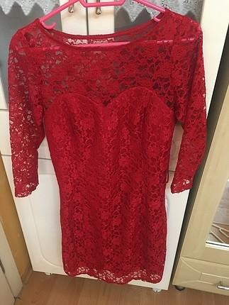 Kıırmızı elbise