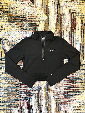 Nike Dalgıç Kumaş Fermuarlı Büstiyer