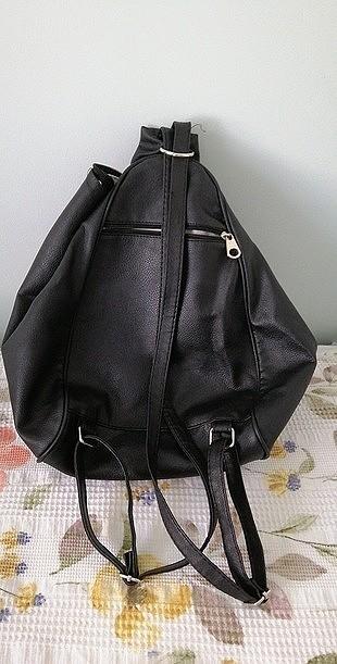 Boyner siyah 3 gözlü çanta