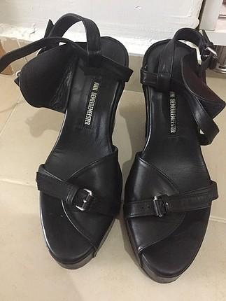 Bayan ayakkabı dolgu topuklu