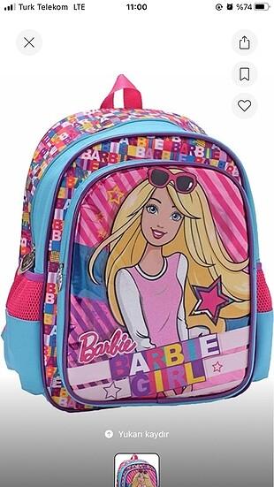 Barbie okul çantası