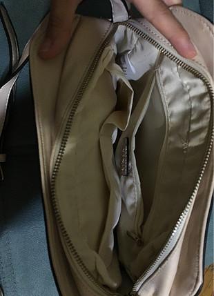 universal Beden Kullanılmamış temiz ten rengi çanta