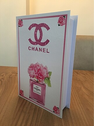 Diğer CHANEL dekoratif kitap kutusu malzeme sert karton