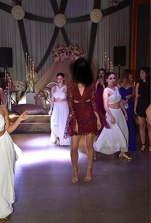 Raisa & Vanessa Mini Elbise
