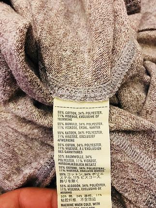 m Beden camel Renk Abercrombie Uzun Kapşonlu
