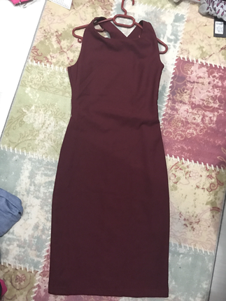 Harla dekolte elbise