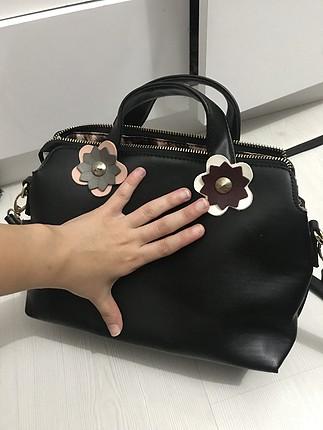 Kaliteli siyah çanta