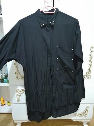 incili yarasa kol gömlek tunik