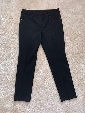 Setrms Siyah Kumaş Pantolon
