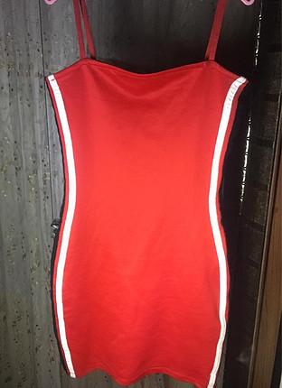 H&M Kırmızı elbise