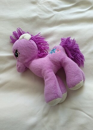Peluş pony at büyük boy mini değil