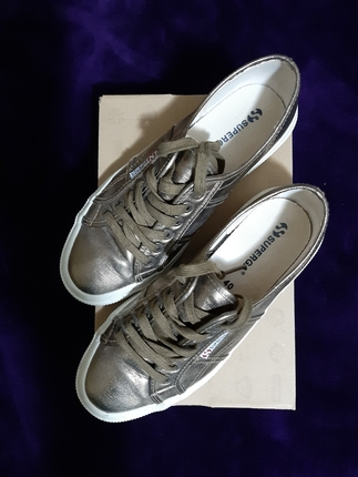 superga bronz ayakkabı