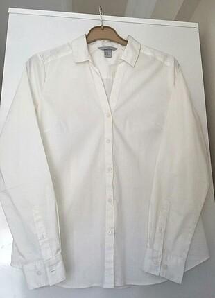 Hm beyaz gömlek