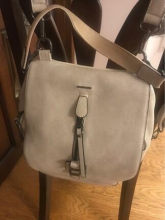 Matmazel krem rengi sırt çantası