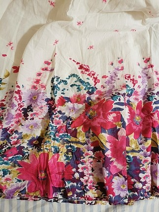 m Beden çeşitli Renk çiçekli straplez elbise