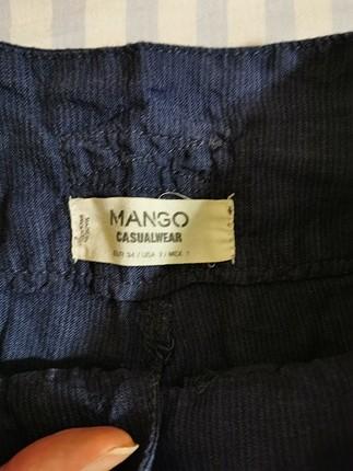 xs Beden lacivert Renk mango keten şort