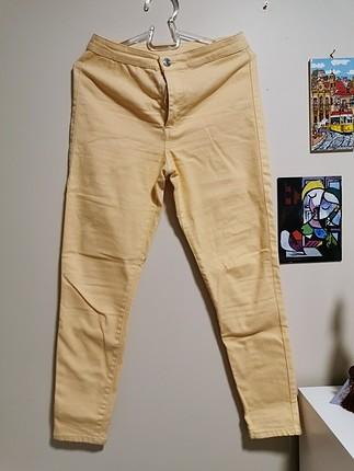 mango sarı pantolon