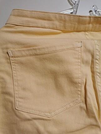 s Beden mango sarı pantolon
